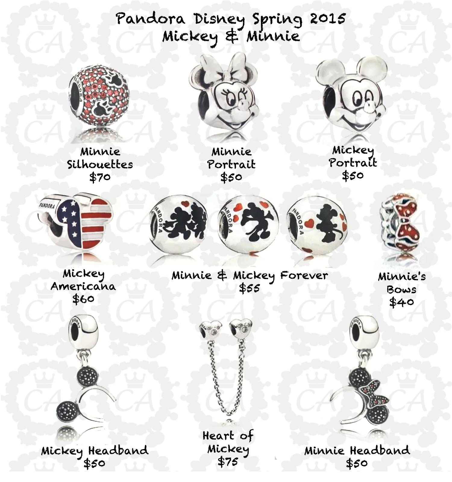 Pandora Jewelry Cost: Pandora Disney Spring 2015 Prices