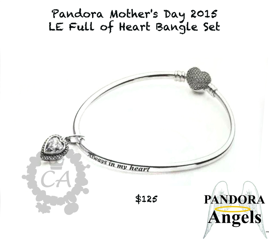 Pandora Mother's Day 2015 US Promotions | Charms Addict