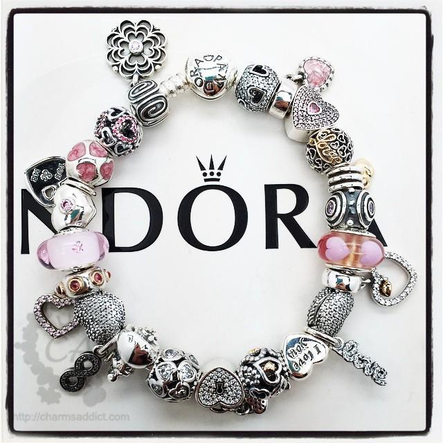 Pandora Valentines Day 2015 Bracelet1