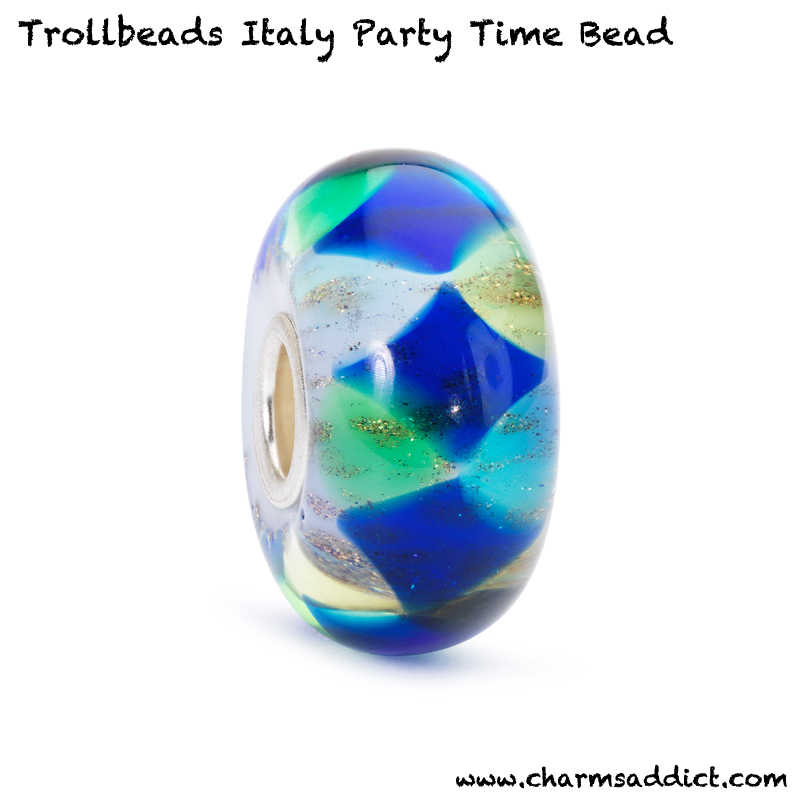 Trollbeads Italy Party Time Bead