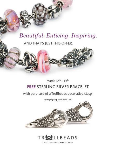 Trollbeads Spring 2015 Bracelet Promotion