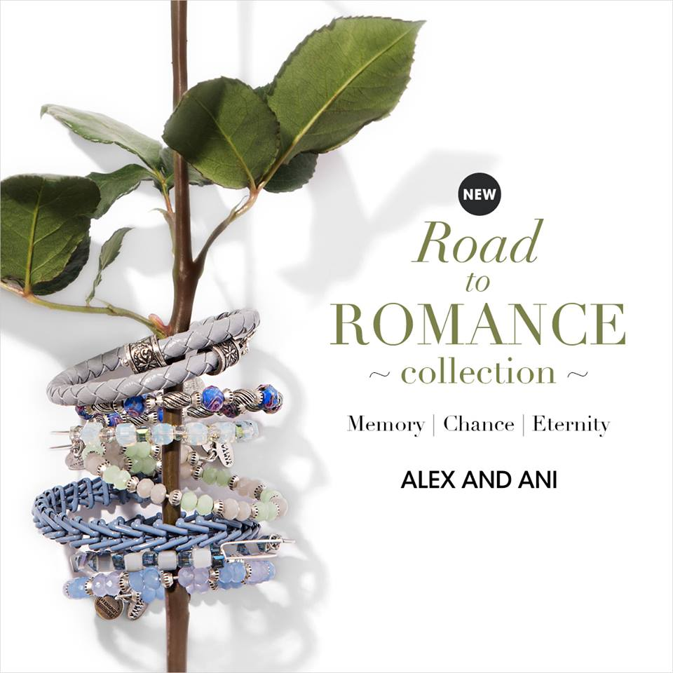 Alex and Ani Road to Romance Collection