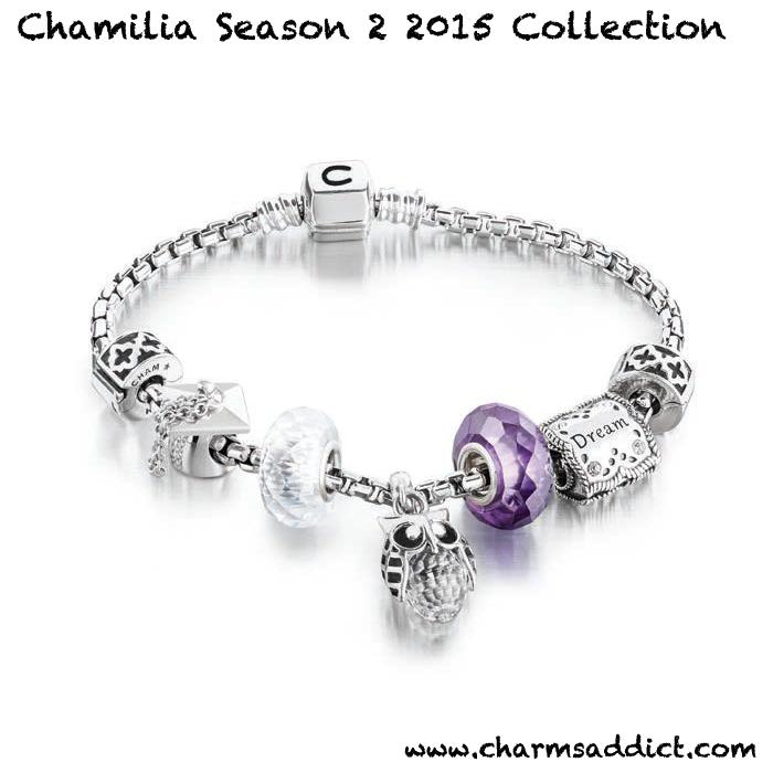 Chamilia Season 2 2015 Graduation Charms