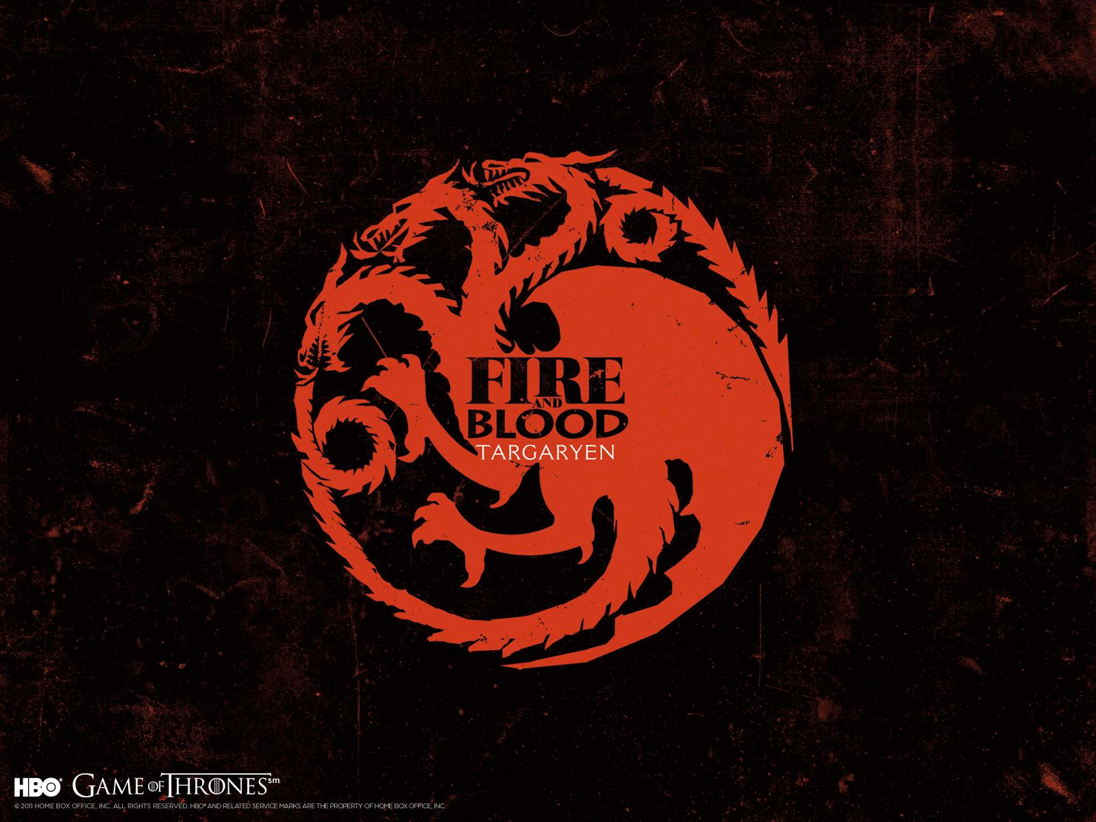 Game of Thrones House Targaryen Bracelet