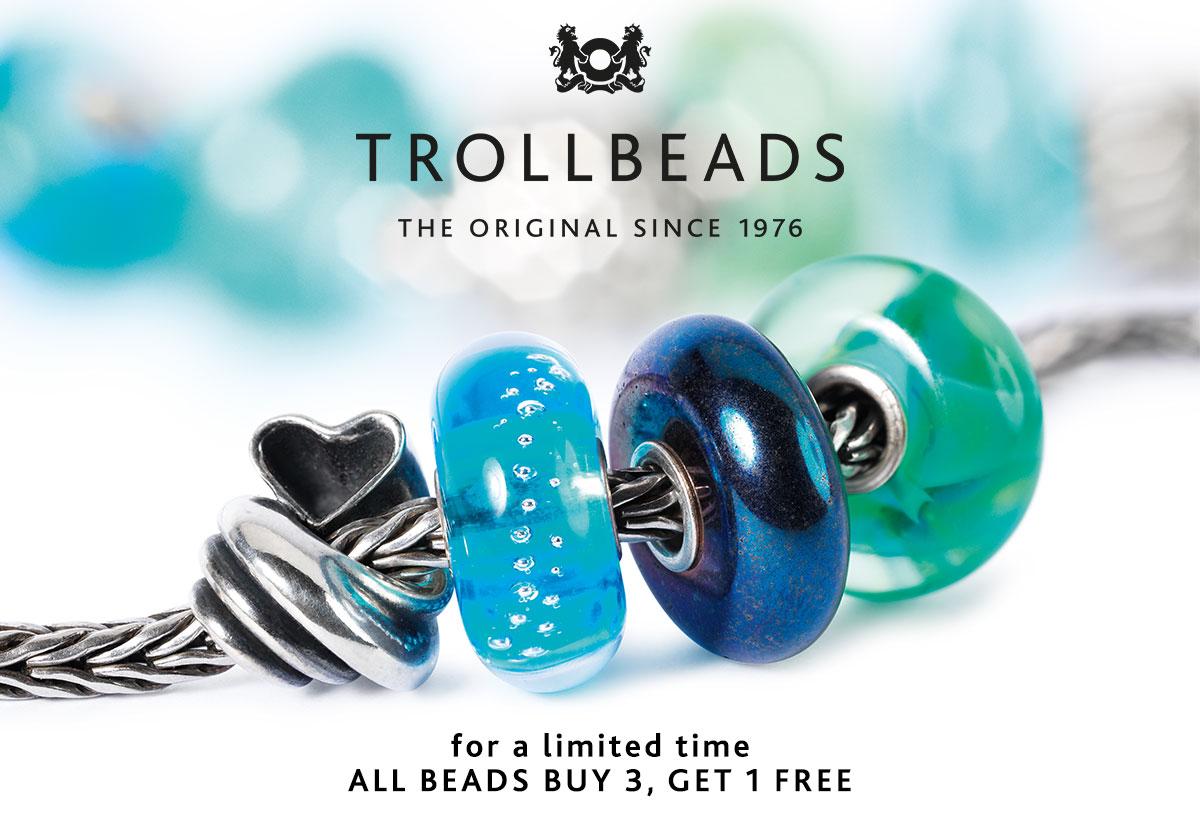 Trollbeads Spring 2015 Buy 3, Get 1 Free Promo