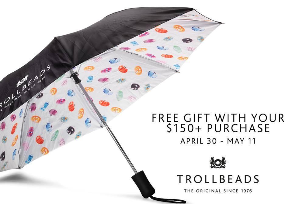 Trollbeads Spring 2015 Umbrella GWP