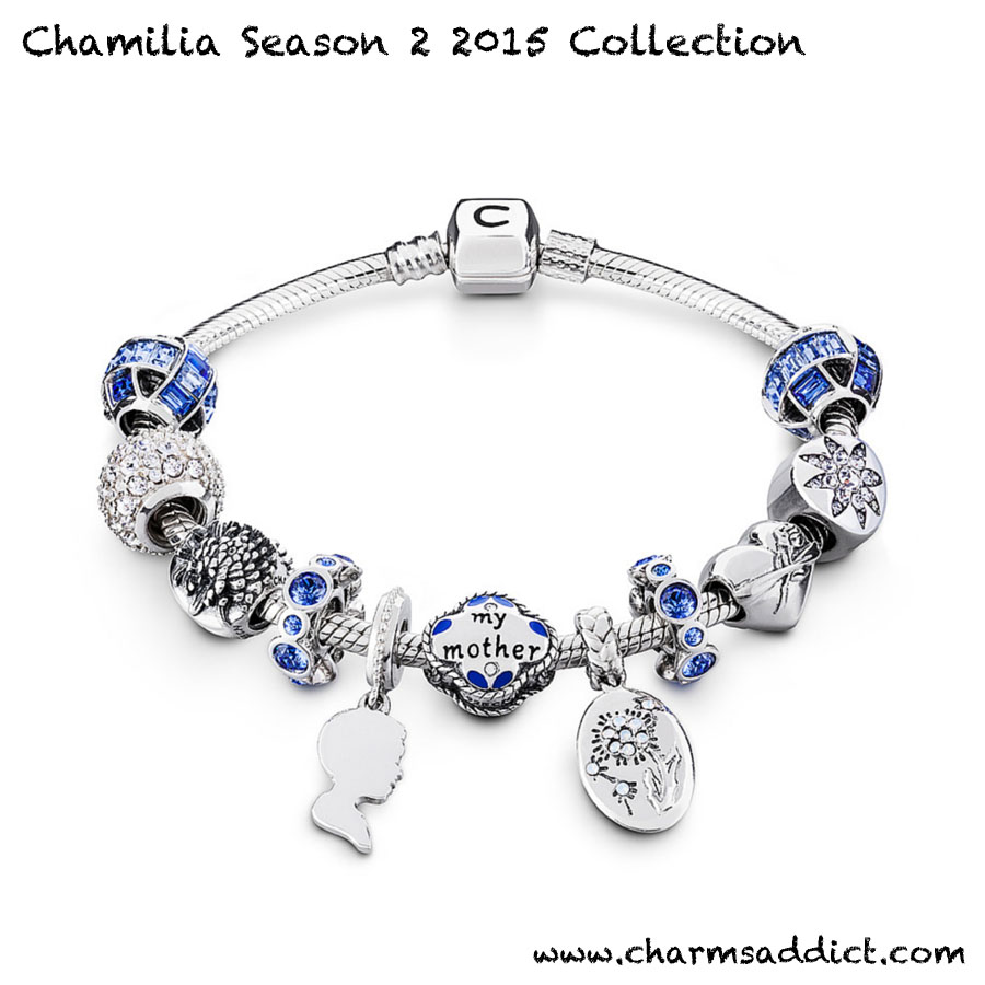Chamilia Season 2 2015 Mother's Day Charms