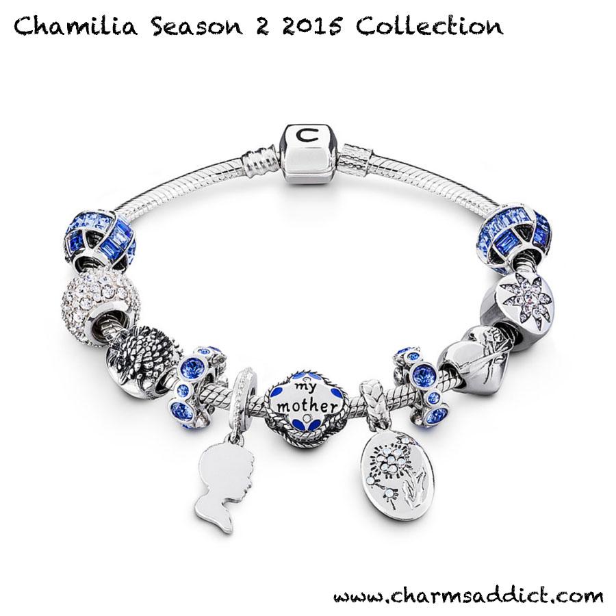 Chamilia Season 2 2015 Mother's Day Charms