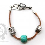 redbalifrog-tan-leather-bracelet
