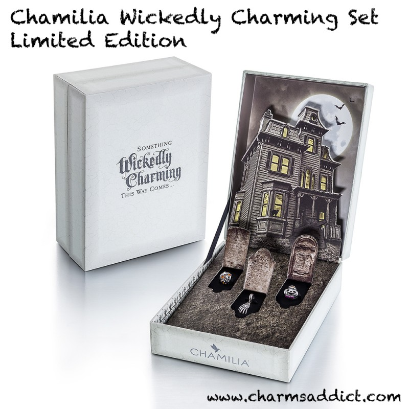 Chamilia LE Wickedly Charming Set Live Shots