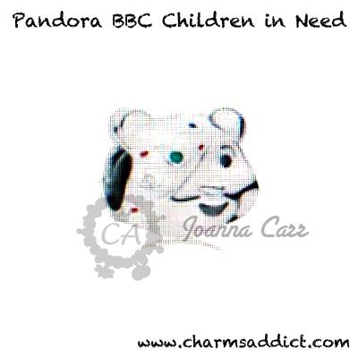 Pandora UK BBC Children in Need Charm