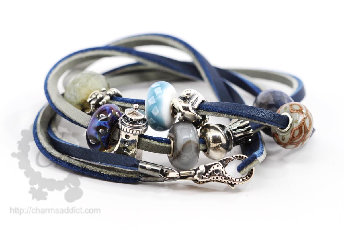 Trollbeads Leather Bracelets Inspiration Charms Addict