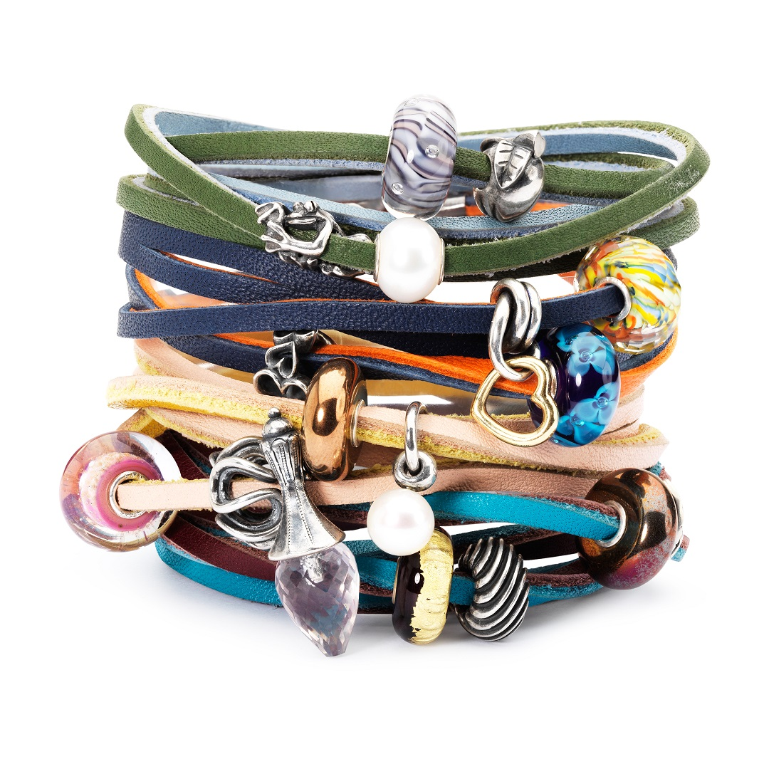 Trollbeads Leather Stack