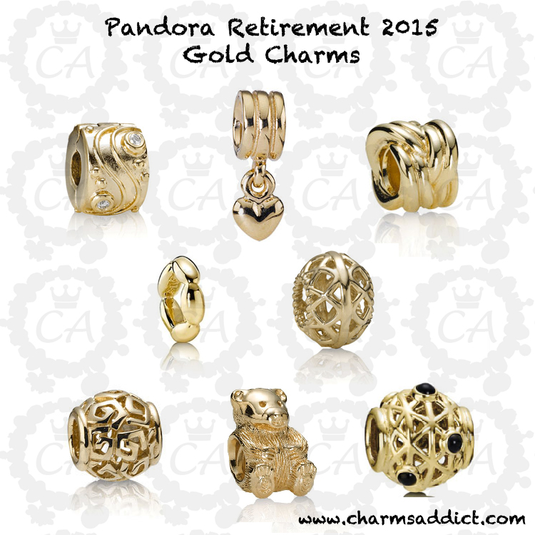 Pandora Retirement Autumn Winter 2015 Charms Addict