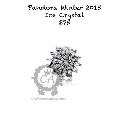 pandora charms ice crystal