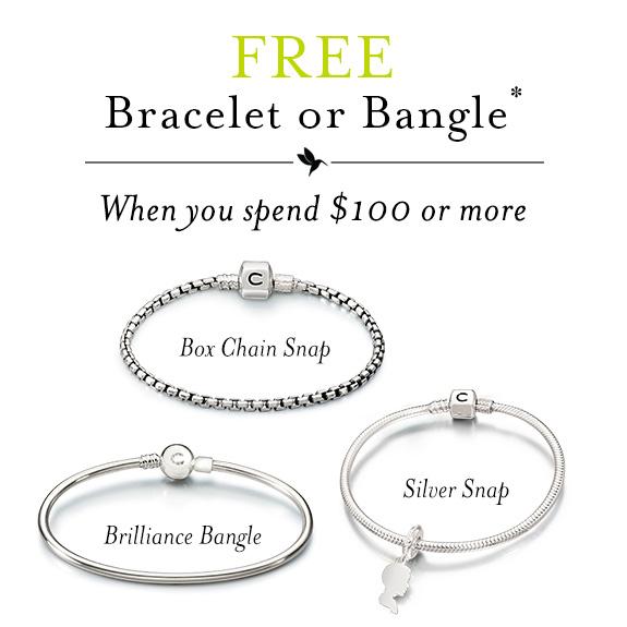 Chamilia Free Bracelet Promo (September 2015)