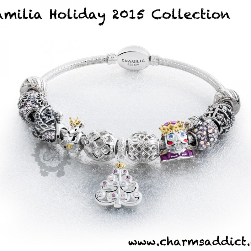 Chamilia Holiday (Season 4) 2015 Collection Preview