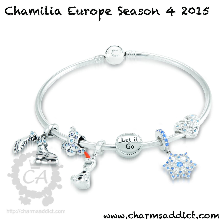 Chamilia Uk Season 4 2017 Frozen Bracelet