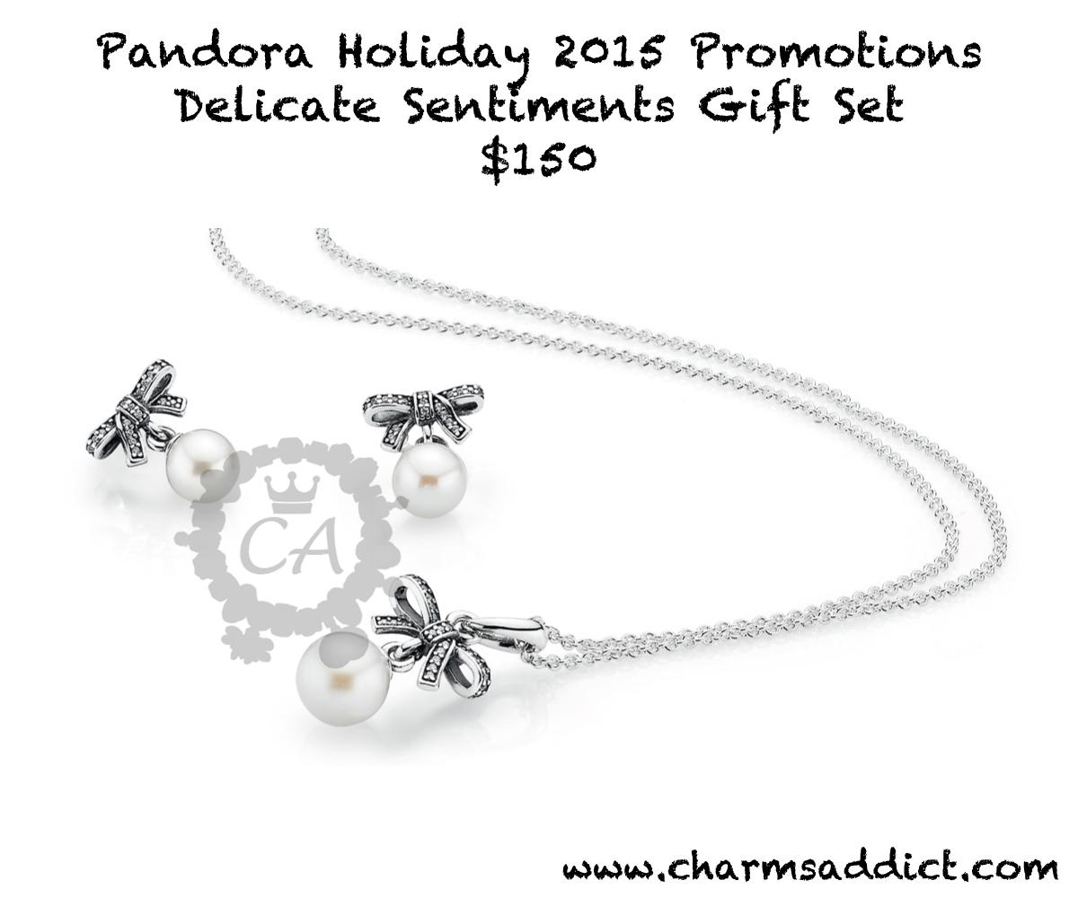 Pandora North America Holiday 2015 Promotions | Charms Addict