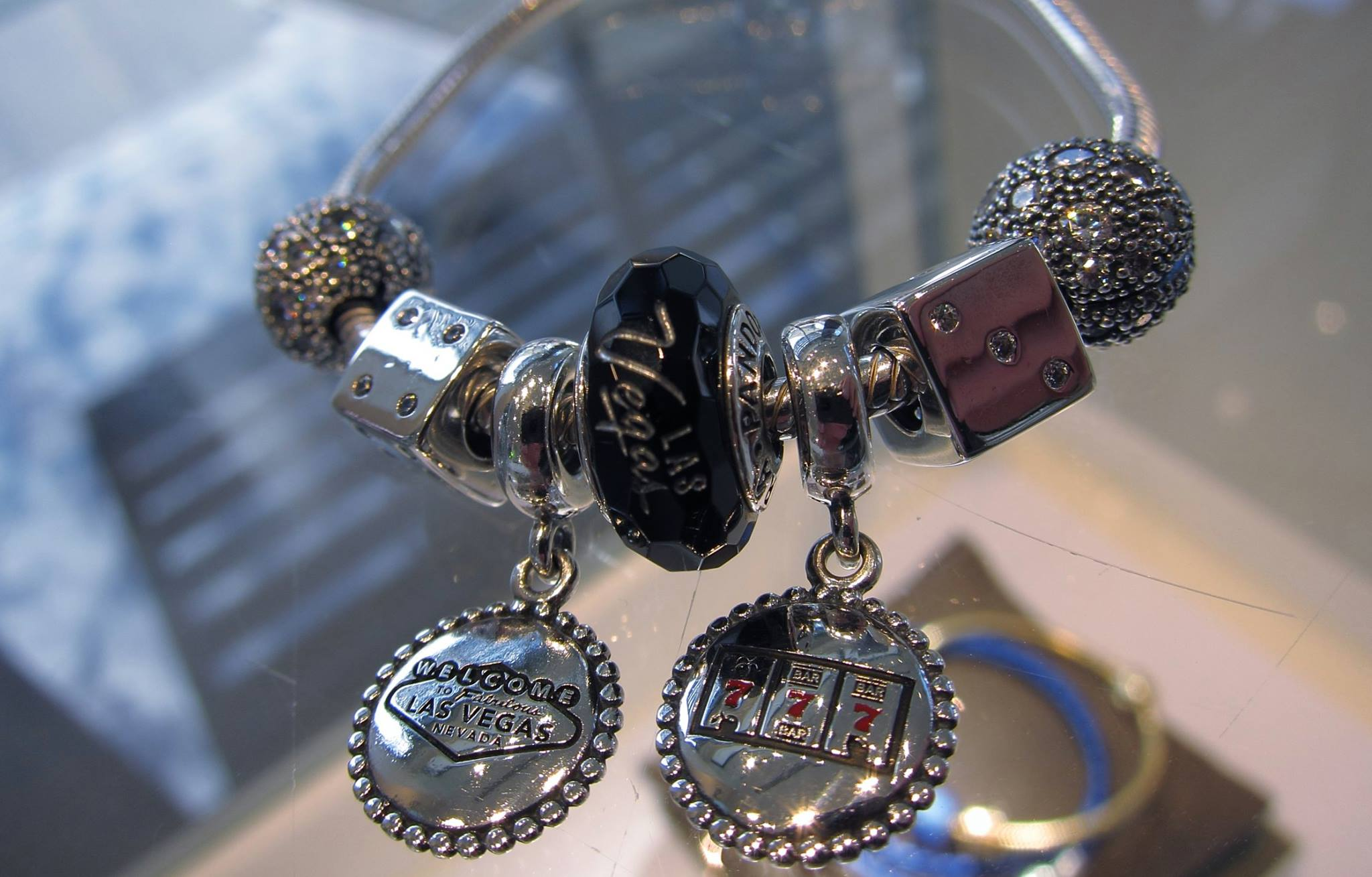 addict pandora charms charm las bracelet exclusives vegas