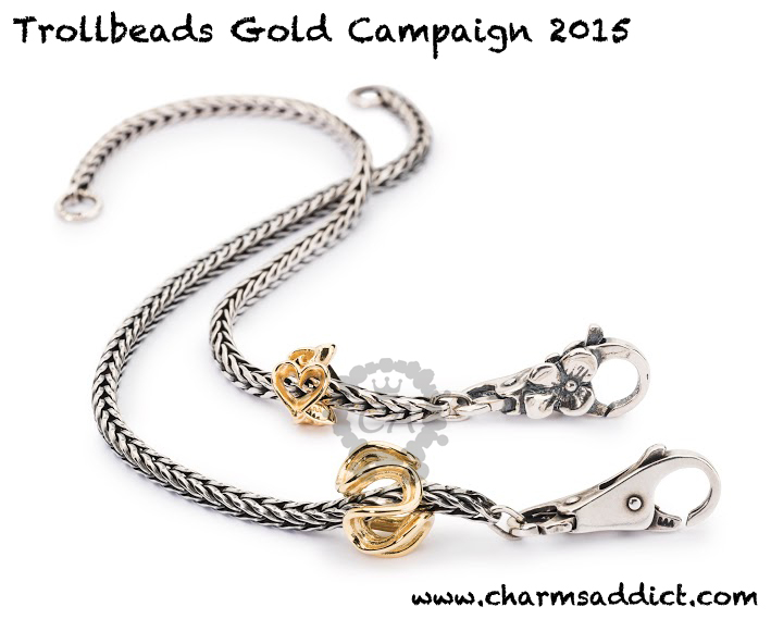 Trollbeads Gold Campaign 2015 Details