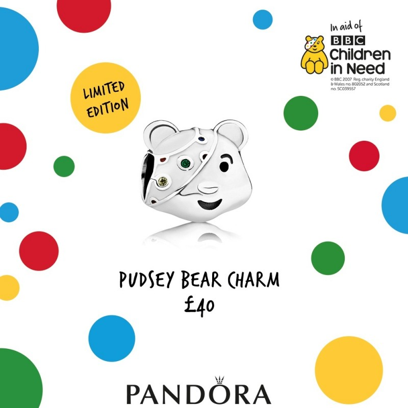 Pandora LE Pudsey Bear Released