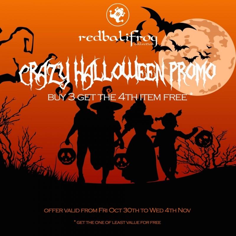*redbalifrog* Halloween Promotion Announced