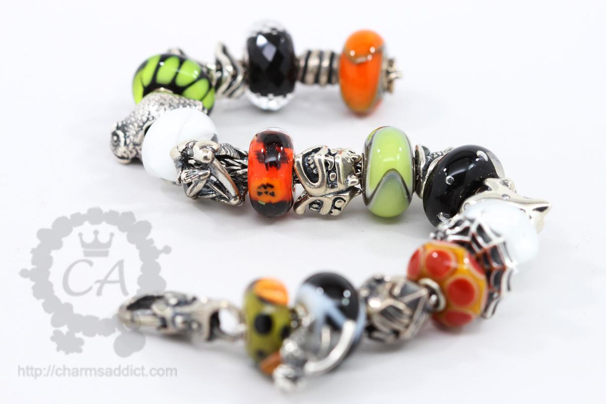 trollbeads secret bracelet blackgrey trollbead picture designer total length jewellery cm garden black of grey leather the