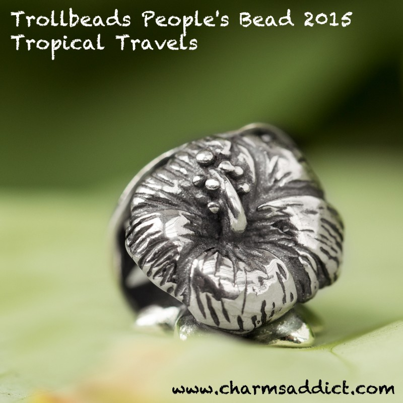 Trollbeads People's Bead 2015 – Tropical Travels Release