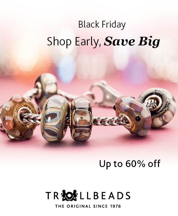 Trollbeads and X Jewellery Black Friday 2015 Sales