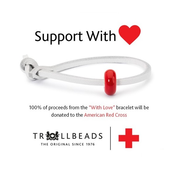 Trollbeads Red Cross With Love Bracelet Debut and Review