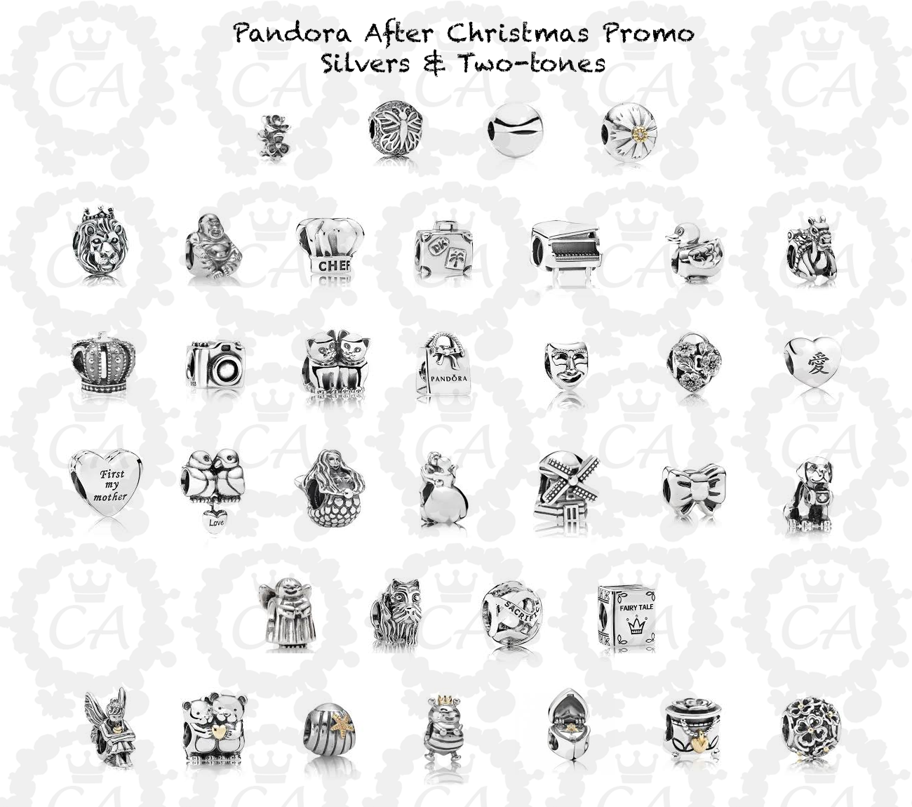 Pandora Jewelry Coupons Printable: Pandora Post Christmas 2015 Promo
