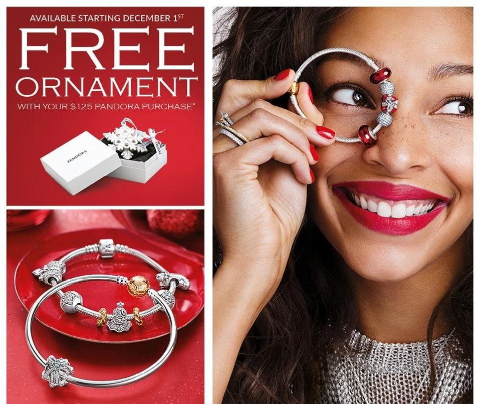 Upcoming Pandora Jewelry Promotions: Pandora Christmas Ornament 2015 Promotion Begins
