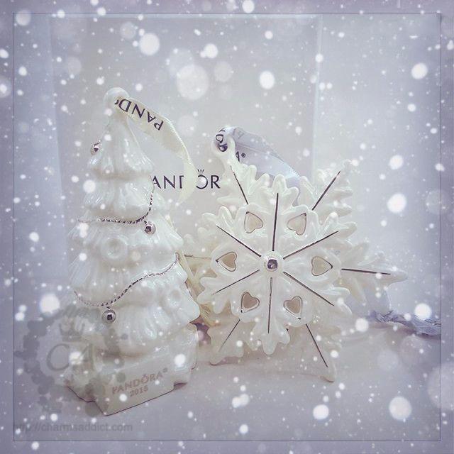 Pandora GWP Ornaments 2015
