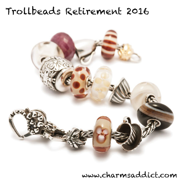 Trollbeads Retirement 2016 and Collector's Sale Details