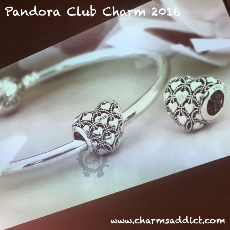 Pandora Club Charm 2016 Sneak Peek