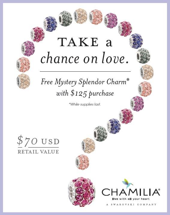 Chamilia Mystery Splendor Charm Promotion