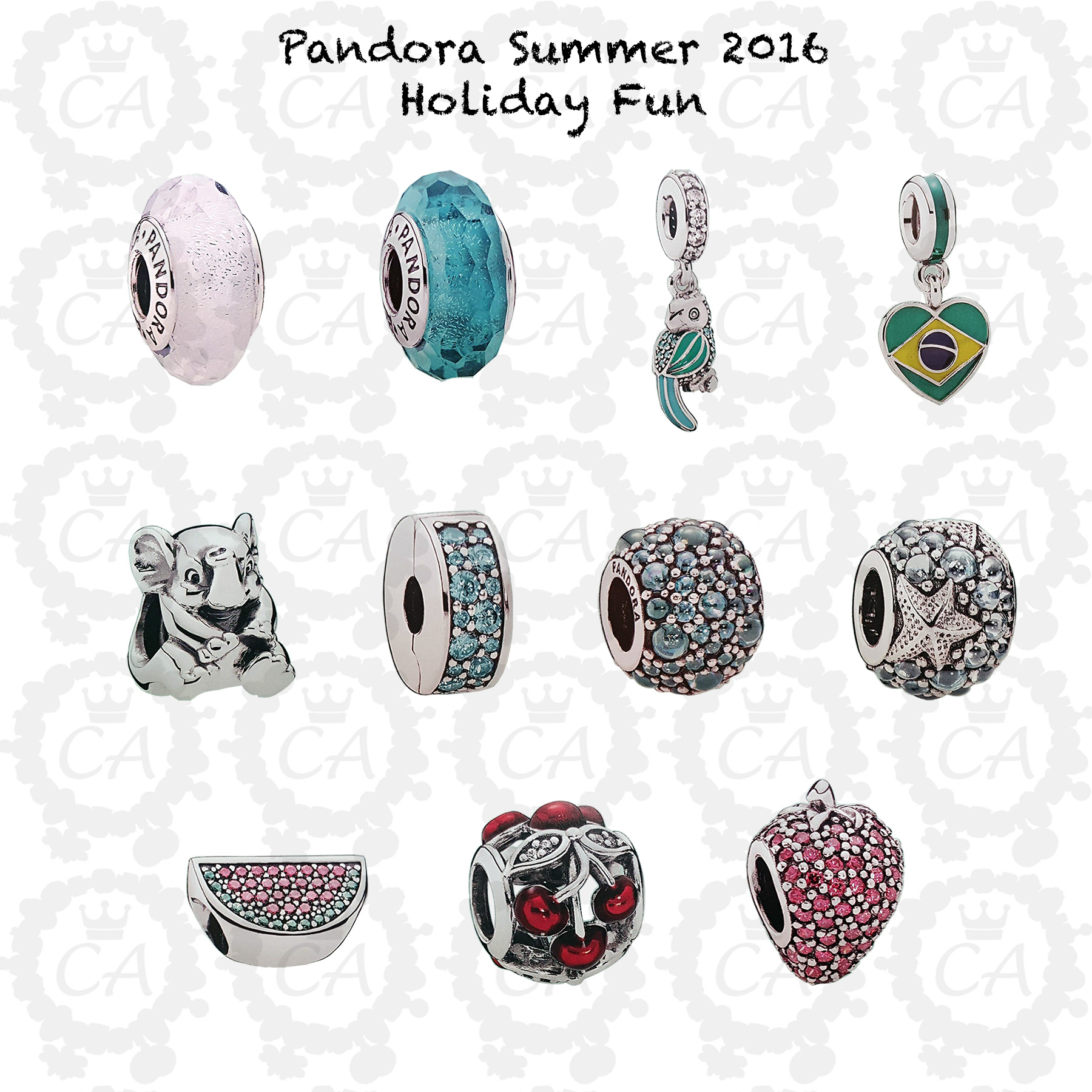 Pandora Summer 2016 Collection First Look Charms Addict
