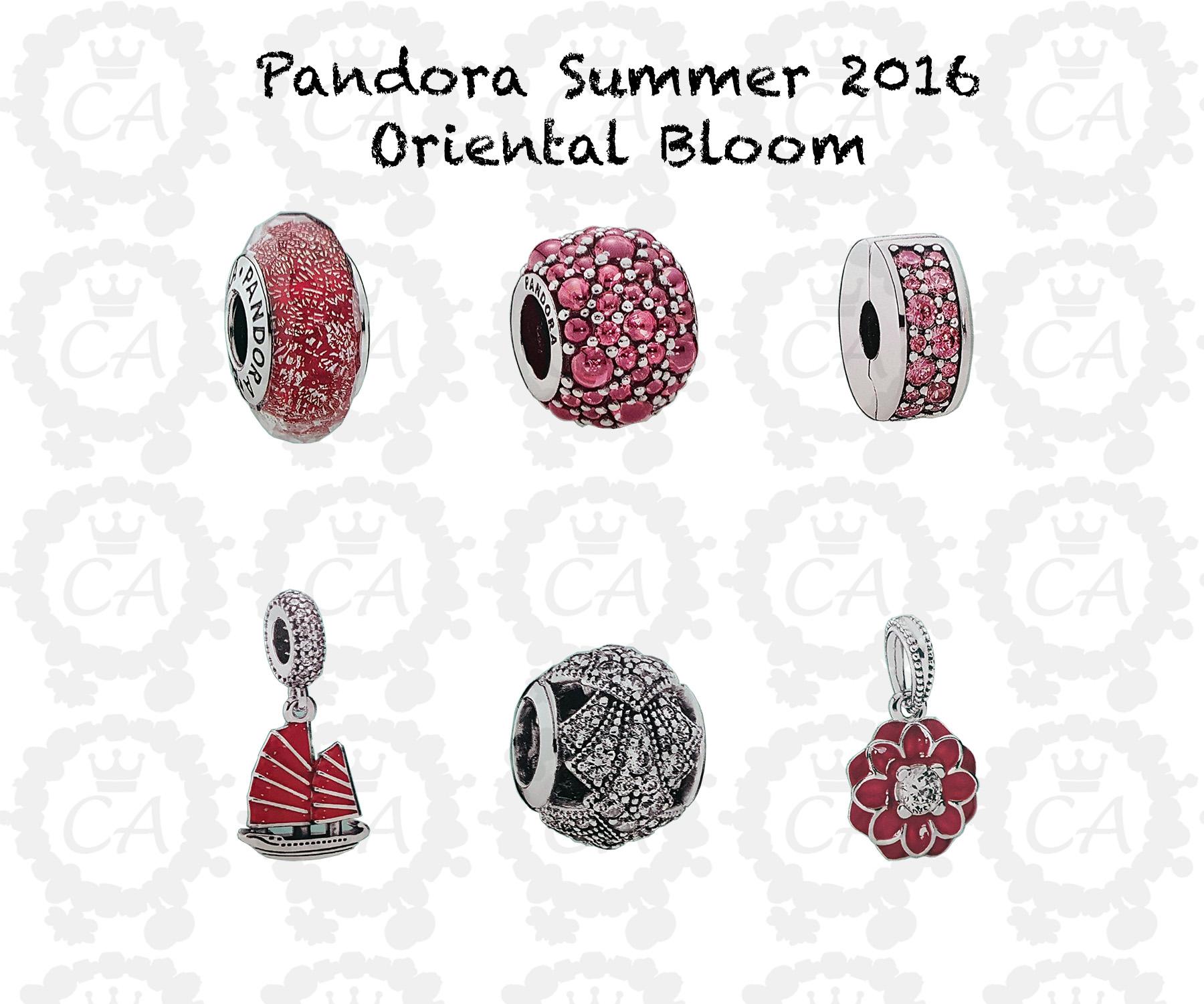Pandora Summer Charms