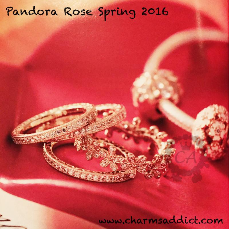 Pandora Rose Spring 2016 Collection Prices