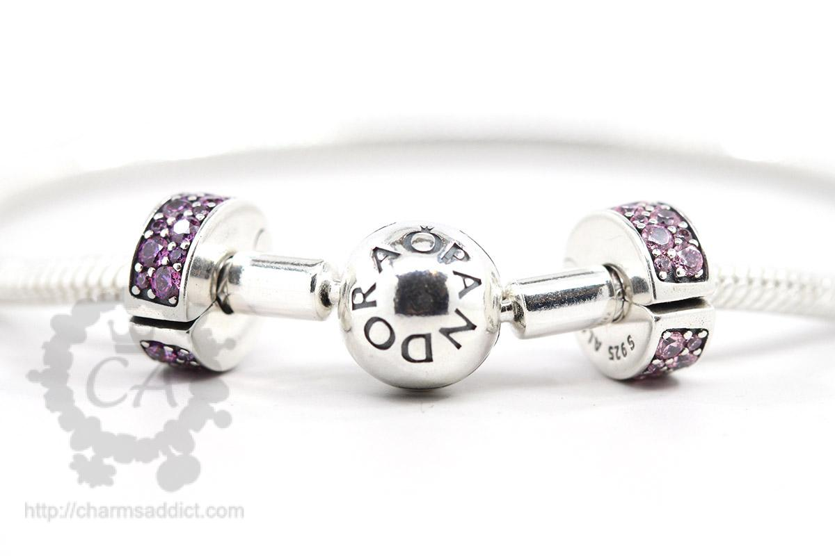 Pandora Smooth Bracelet Stopper Clips