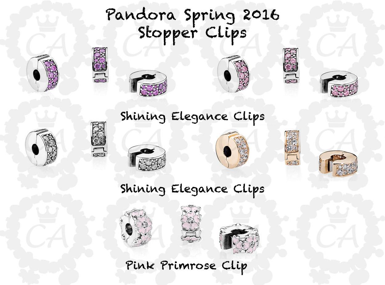 clip pandora silicone