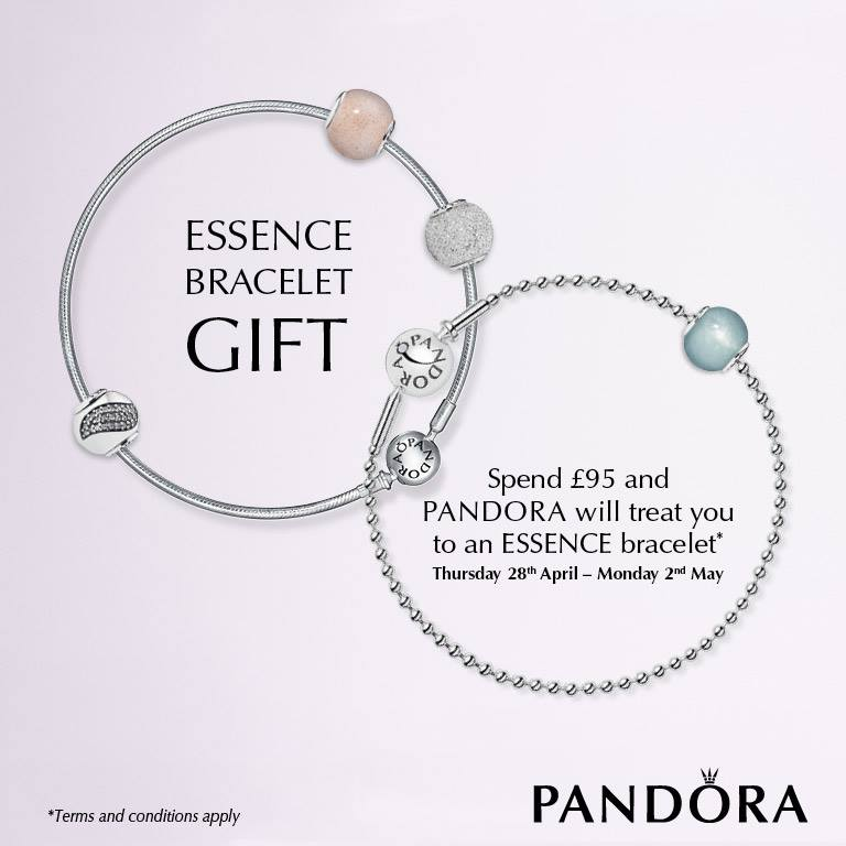 Pandora Essence UK Promotion