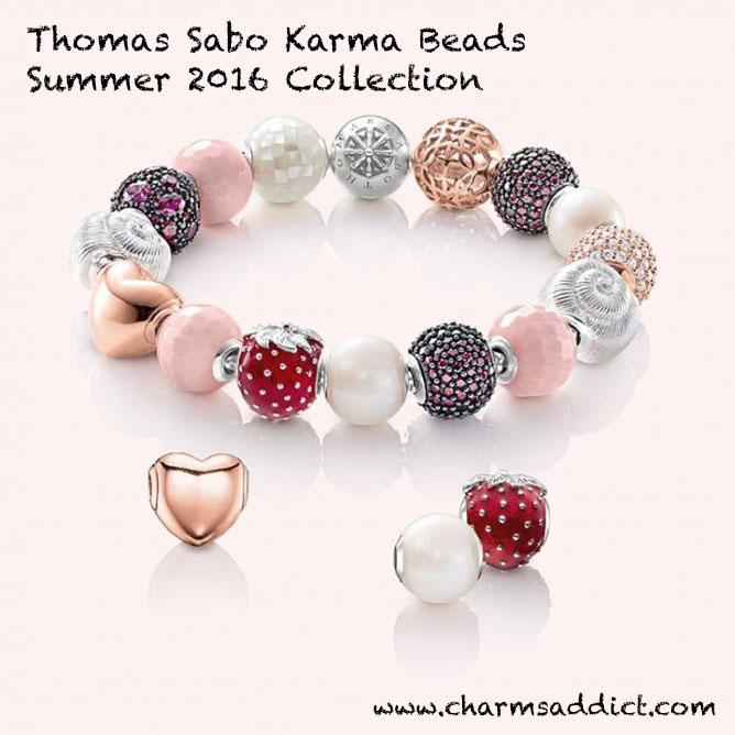 Thomas Sabo Karma Beads Summer 2016 Collection