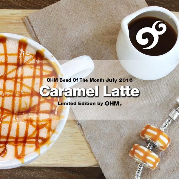 Ohm Beads July BOTM Caramel Latte
