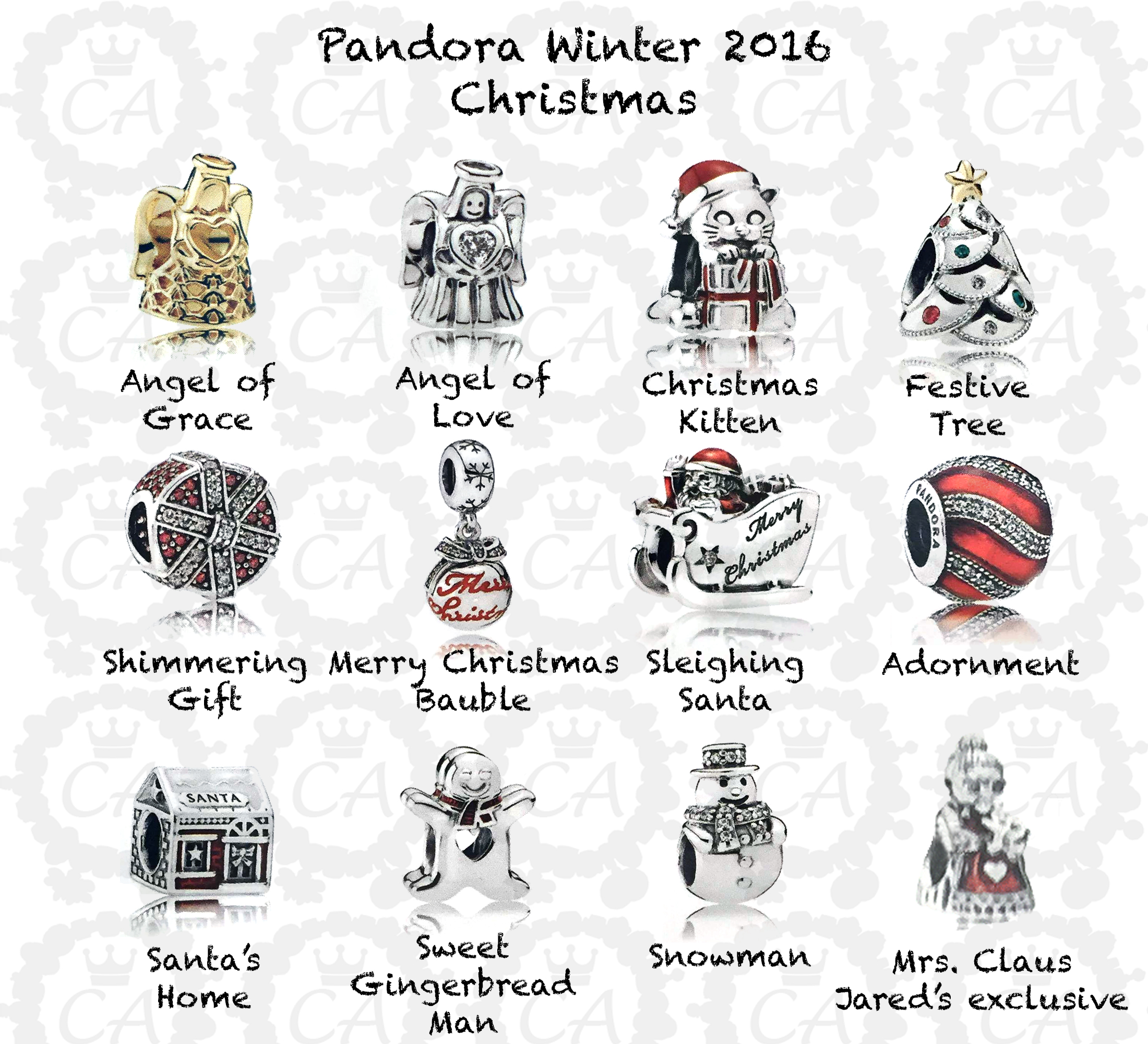3ae74746d Pandora Winter 2016 Comprehensive Preview | Charms Addict