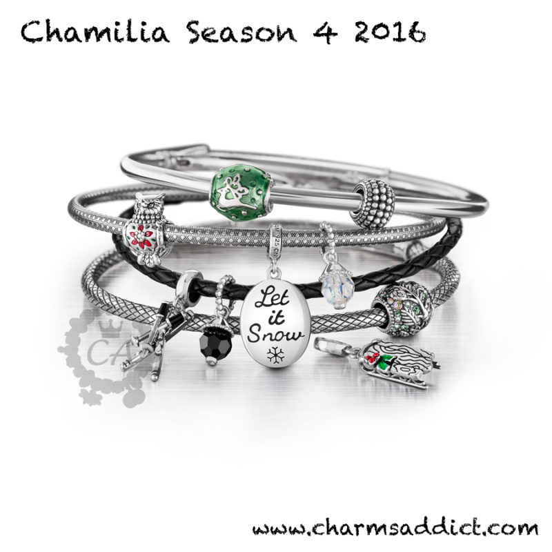 Chamilia Holiday 2016 (Season 4) Collection Preview
