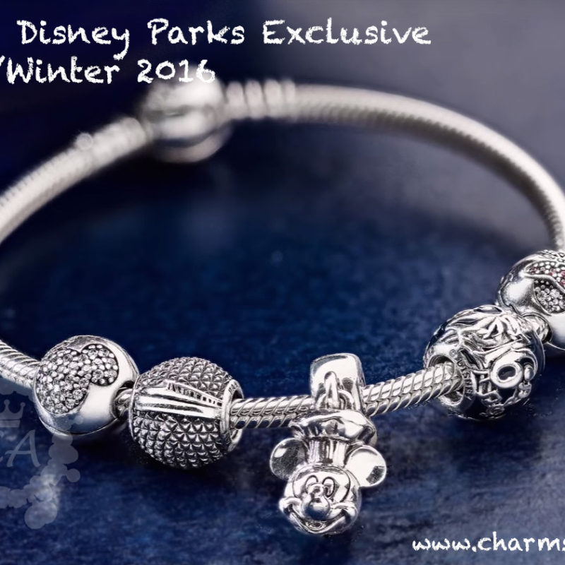 Pandora Disney Parks Exclusive Autumn/Winter 2016 Sneak Peek
