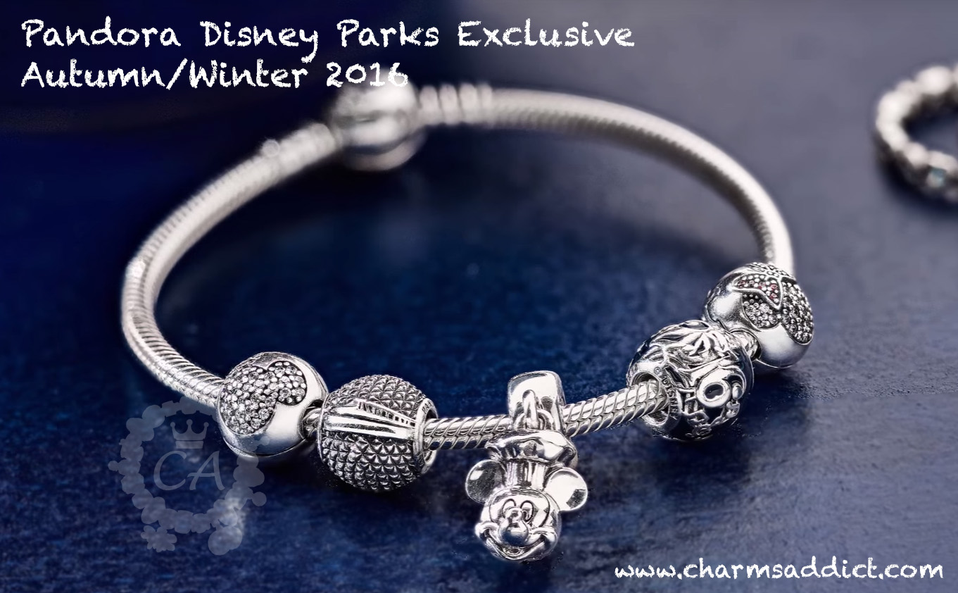 pandora charms only at disney world