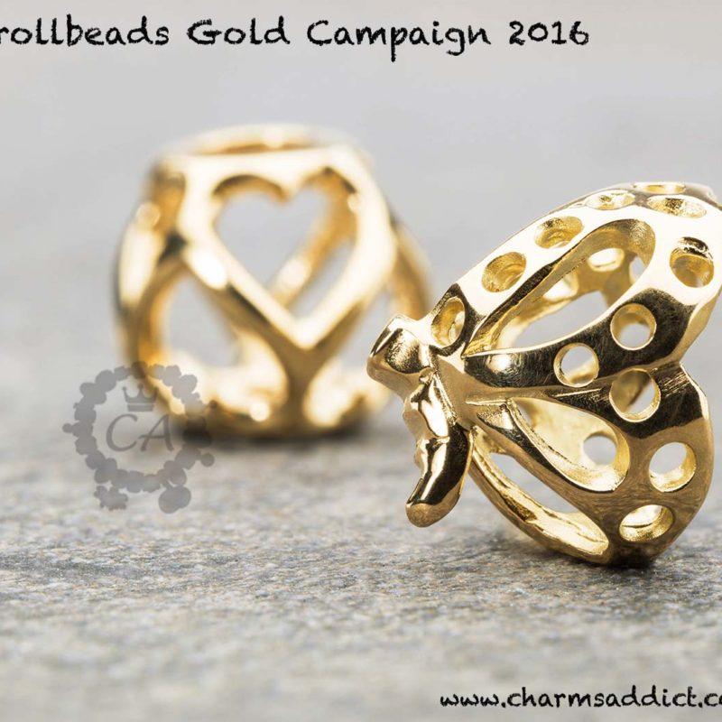 Trollbeads Gold Campaign 2016